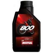 Моторное масло Motul 800 Off road 2T 1л