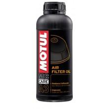 Масло для пропитки воздушных фильтров Motul A3 AIR Fillter OIL 1л