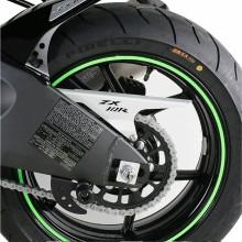 Наклейка колесный диск Rascal Grafik (зелёная)