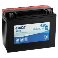 Аккумулятор Exide ETX24HL-BS/YTX24HL-BS