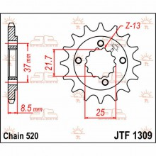 Звезда ведомая JTF 1309.14