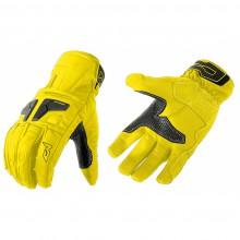 Перчатки кожаные MOTEQ Venus желтые (L)