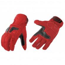 Перчатки кожаные MOTEQ Venus красные (L)