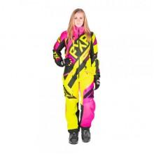 Комбинезон FXR CX без утепл, жен (Elec Pink/Hi-Vis/Blk) - 10