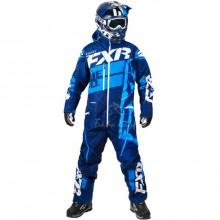 Комбинезон FXR Boost легкий (Navy/Blue) - L