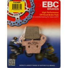 Тормозные колодки EBC FA346R / SBS 777