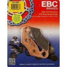 Тормозные колодки EBC FA159R / SBS 642