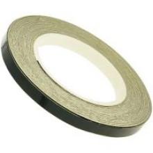 Наклейка на колесный диск 980681BLA черная