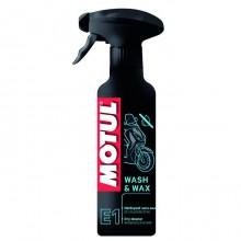 Очиститель Motul E1 Wash&wax 0.4л