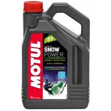Моторное масло Motul Snow power 2T 4л