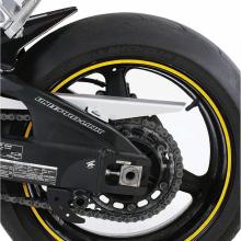 Наклейка на колесный диск IXS D2828-10233 (желтая)