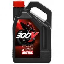 Моторное масло Motul 300V Ester Core 10W40 4л
