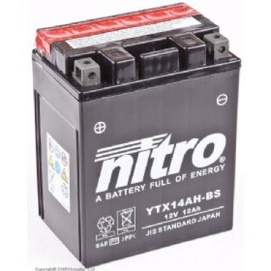 Аккумулятор NITRO YTX14AH-BS