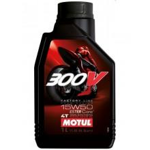 Моторное масло Motul 300V Ester Core 15W50 1л