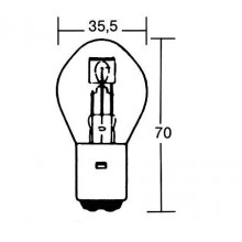 Лампа PW 209-145 S2 35/35