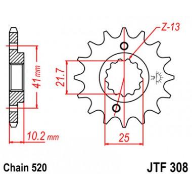 Звезда ведущая JTF 308.14