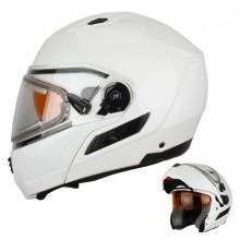 Шлем снегоходный XTR MODE1 Blitz белый с электростеклом L