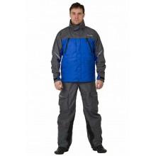 Дождевик мембранная куртка QUAD blue L