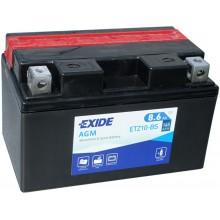 Аккумулятор Exide ETZ10-BS/YTZ10-BS