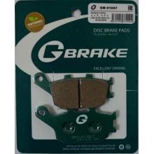 Тормозные колодки G-brake GM-01057S / SBS 657
