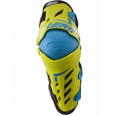 Наколенники Leatt Dual Axis knee & Shin Lime/Blue S/M