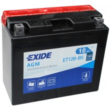 Аккумулятор Exide ET12B-BS/YT12B-BS