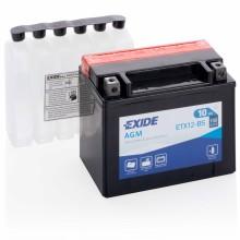 Аккумулятор Exide ETX12-BS/YTX12-BS