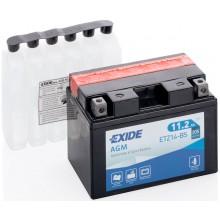 Аккумулятор Exide ETZ14-BS/YTZ14-BS