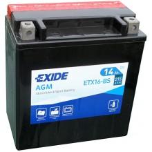 Аккумулятор Exide ETX16-BS/YTX16-BS-1
