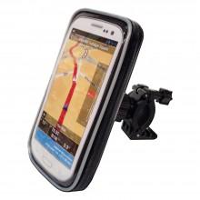 Чехол для смартфона 90х167 мм креп. на руль