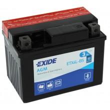 Аккумулятор Exide ETX4L-BS/YTX4L-BS