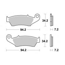 Тормозные колодки G-brake GM-01054 / SBS 694