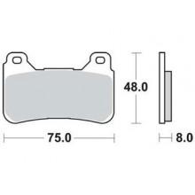 Тормозные колодки G-brake GM-01092S / SBS 809