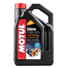 Моторное масло Motul Snow power Synth 2T 4л
