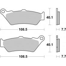 Тормозные колодки G-brake GM-01080S / SBS 674