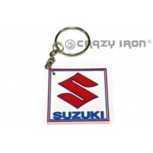 Брелок резиновый лого Suzuki PVC-SUZUKI