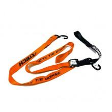 Стяжки для крепления мотоцикла R-tech 38мм х 2м (оранжевые)