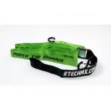 Стяжки для крепления мотоцикла R-tech 38мм х 2м (зеленые)