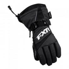 Перчатки FXR Helix Race с утеплителем Black (M)