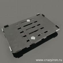 Рамка под номер (мото) 190x145 металл