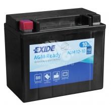 Аккумулятор Exide AGM12-10/YTX12-BS