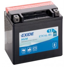 Аккумулятор Exide ETX14L-BS/YTX14L-BS