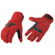 Перчатки кожаные MOTEQ Venus красные (M)