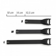 Ремешок Forma черный L (18см)