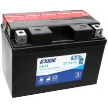 Аккумулятор Exide ET12A-BS/YT12A-BS