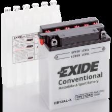 Аккумулятор Exide EB12AL-A/YB12AL-A