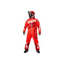 Комбинезон FXR Boost легкий (Nuke Red/Maroon) - S
